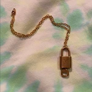 Louis Vuitton Jewelry - LV Lock Necklace